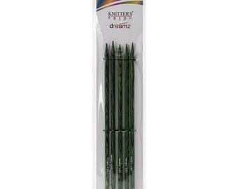 Size 9 Double Point Needles Knitters Pride Dreamz Birch Wood Knitting Double Point Needles 8 inch Long Set of 5 needles