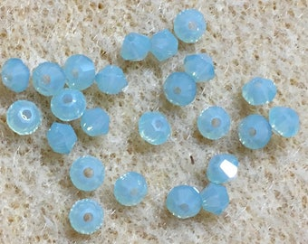 Pacific Opal 5328 Bicone Swarovski Crystal Beads 4mm 24 beads