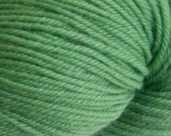 Herb Green Cascade Heritage Yarn 437 yards Super Fine Wool Nylon Sock Yarn Color 5658