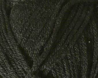 Clearance Black Cascade Anthem Yarn 186 yards 100% Acrylic Color 05