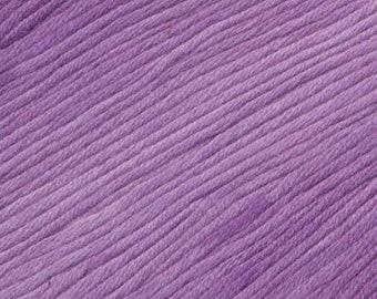 Purple Punch Ella Rae Sun Kissed yarn DK Weight 262 yards 100% Cotton Yarn Color 07