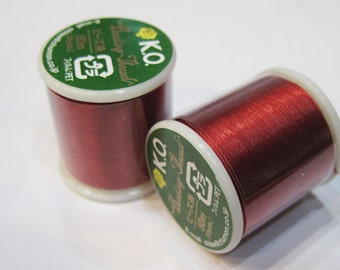 Bright Red KO Nylon Japanese Beading Thread 55 yards