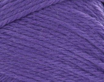 Violet Cascade Pacific Merino Wool and Acrylic Yarn 213 yards color 38