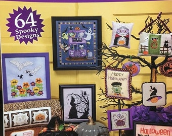 ON SALE Just Cross Stitch Halloween Special Collectors Issue 2018 with 64 Spooky Designs