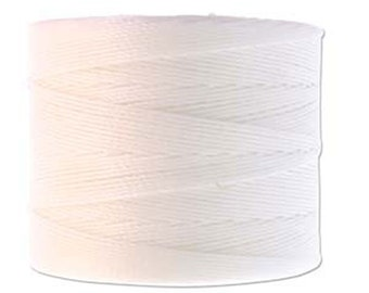 S-Lon Micro Tex 70 White Multi Filament Superlon Micro Cord 287 yard Spool