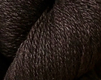 Mocha Brown Kathmandu DK 100 by Queensland Collection Merino Wool Silk Cashmere Tweed 295 yards DK Weight