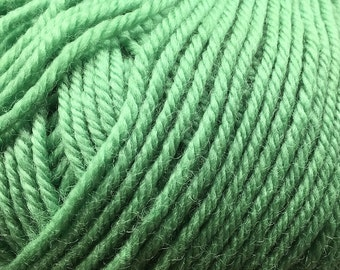 Clearance Peppermint Green Cascade 220 Superwash Yarn 220 yards 100% SuperWash Wool color 226