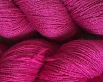 Raspberry Cascade Heritage Yarn 437 yards Super Fine Wool Nylon Sock Yarn Color 5617