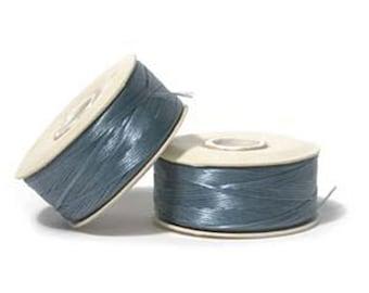 Nymo Beading Thread Turquoise Size D 64 yards 1 Spool Blue Thread