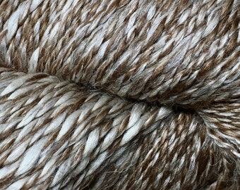 Araucania Lujoso Baby Alpaca Fine Merino Wool Mulberry Silk Worsted Weight Yarn Color 03 Cappuccino 164 yards
