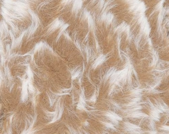 Furreal Fur Yarn Pawnee Bear by Knitting Fever 100% Polyester Super Bulky Weight 71 Yards #05