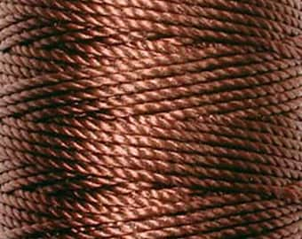 S-Lon Tex 400 Brown Multi Filament Cord 35 yard Spool
