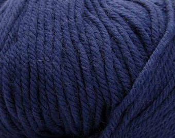 In the Navy Cascade 220 Superwash Yarn 220 yards 100% SuperWash Wool color 885