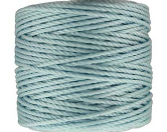 S-Lon Tex 400 Sky Blue Multi Filament Cord 35 yard Spool