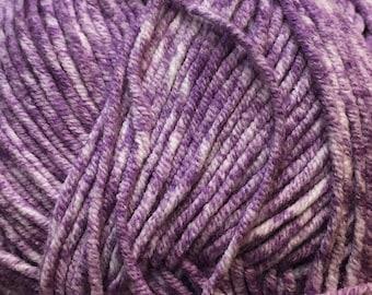 Clearance Grape Cascade Sarasota Cotton and Acrylic 100 grams 314 yards Yarn color 02