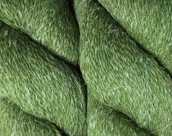 New Eco Hemp 80 Percent Peruvian Highland Wool and 20 Percent Hemp Yarn by Cascade DK Weight Iguana Color 19