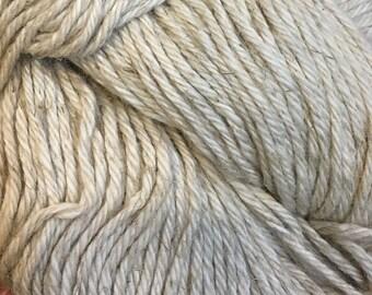 Clearance Ecru Cascade Hampton Pima Cotton and Linen DK Weight Yarn 273 yards color 08