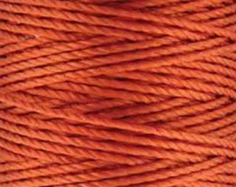 S-Lon Tex 400 Orange Multi Filament Cord 35 yard Spool