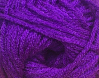 Neon Grape Cascade Anthem Yarn 186 yards 100% Acrylic Color 64