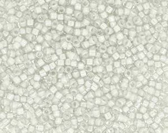 11/0 Miyuki Delica Fancy Lined Oyster Glass Seed Beads 7.2 grams DB2391