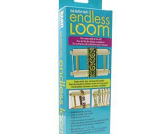 Endless Loom by Deb Moffett Hall No Warm Ends to Tie Off Bracelet Loom