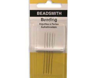 Beadsmith English Beading Needles Pack of 4 Size 13