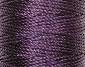 S-Lon Tex 400 Purple Multi Filament Cord 35 yard Spool