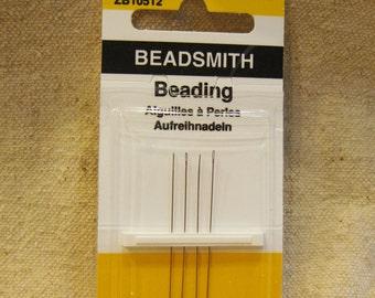 Beadsmith English Beading Needles Pack of 4 Size 12