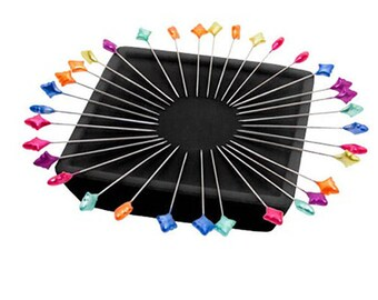 Zirkel Magnetic Straight Pin Holder Metallic Pin Cushion