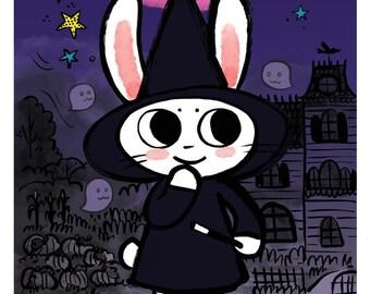 Magical Character Rabbit Comic