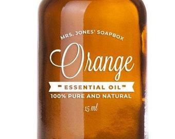 100% Pure & Natural Sweet Orange Essential Oil