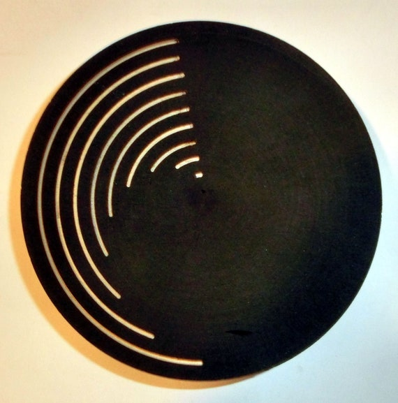 "Small Woodturning Plate – ""Zero to 170"" – FREE Shipping in USA!!"