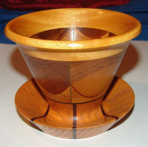 """Walnut Veneer Woodturning Segments 12/"""" x 12/"""" 3 pcs."""