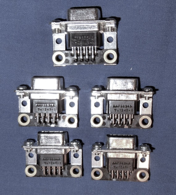 Craft Oddity – Computer Serial Port Connectors - Quantity of 10 - FREE Shipping in USA!!
