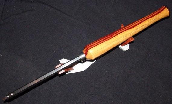 Tambootie Handle Custom Micro Woodturning Tool #07-17