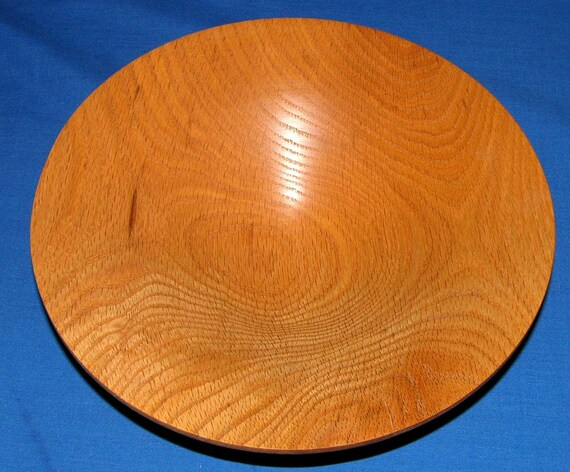 Red Oak Bowl Woodturning - Flow 7 - FREE Shipping in USA!!