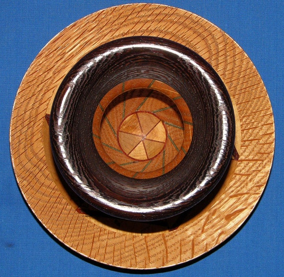 Segmented Woodturning 94-6 Unique Design - FREE Shipping in USA!!