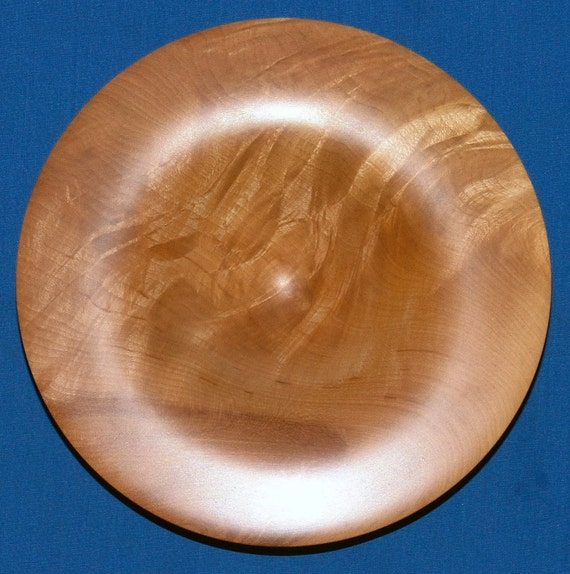 Knotty Curly Maple Turning   -Folds In Time-   Highly Figured Maple - Free Shipping in USA