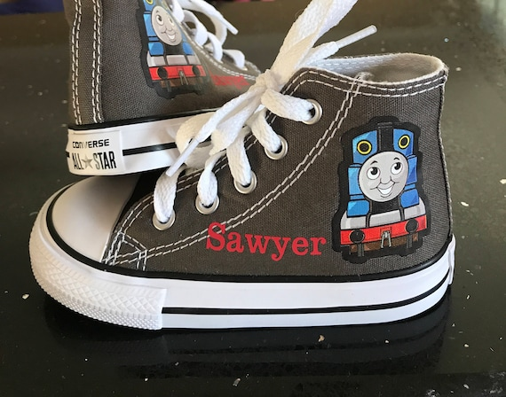 Custom Thomas the tank Engine converse
