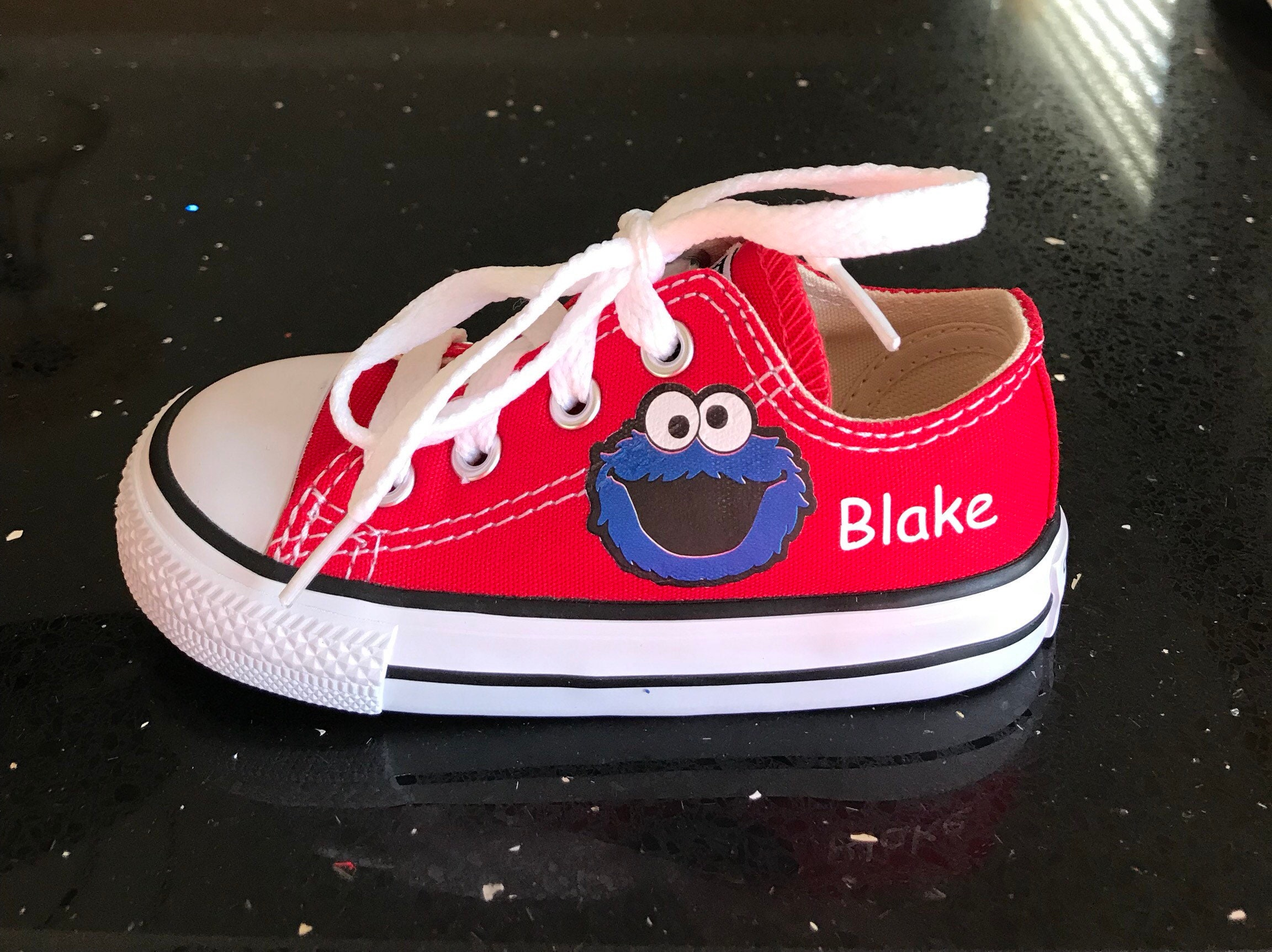 Cookie Monster Shoes Custom Kid Converse Shoes Custom