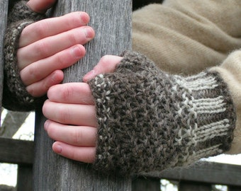 Knitting Pattern YARN Magic Mitts PDF Unisex Worsted Intermediate Size Small through Xlarge