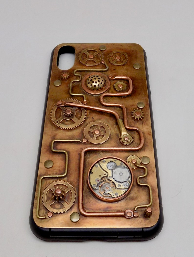 iPhone XS MAX case Mobile case.Cell phone case Steampunk phone case