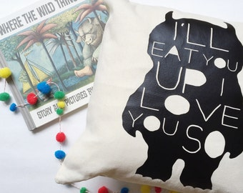 Wild Things - Pillow Cover (4 OPTIONS!)