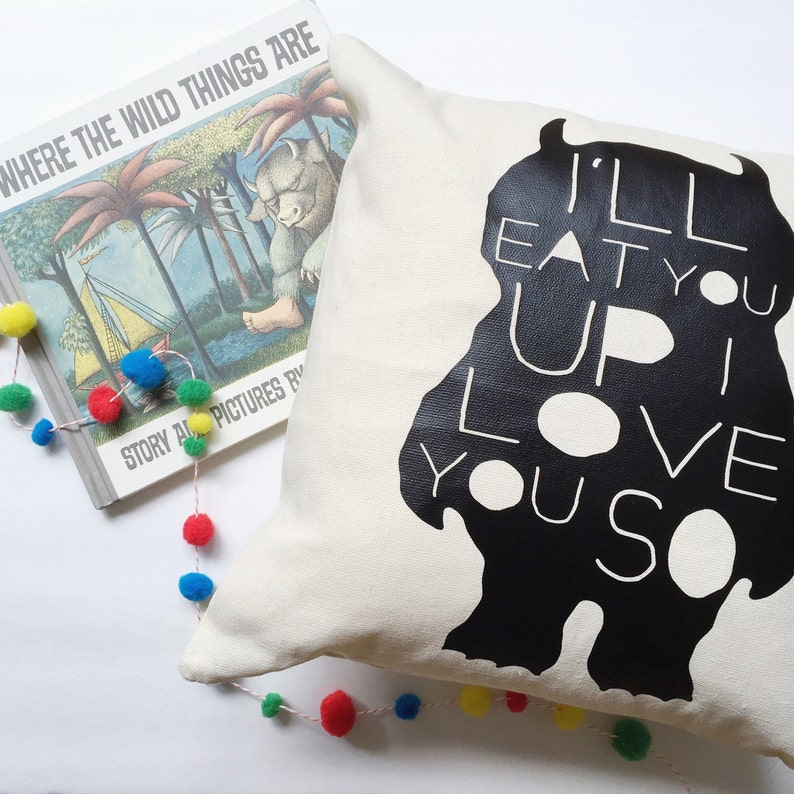 Wild Things  Pillow Cover 4 OPTIONS image 0