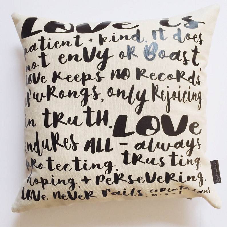 Love Is...  Pillow Cover image 0