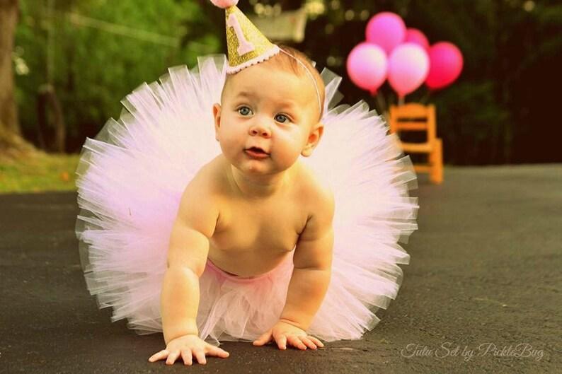 First Birthday Outfit Girl Tutu Newborn Girl Coming Home Outfit 1st Birthday Outfit Girl Tulle Skirt Baby Tutu Dress Baby Shower Gift