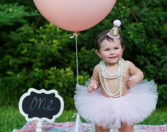 Cake Smash Outfit Girl Tutu, 1st Birthday Tutu, First Birthday Outfit Girl Tutu, First Birthday Tutu, 1st Birthday Outfit Tutu, SEWN Tutu