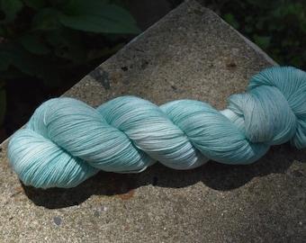 Merino/Nylon Superwash Sock - Robin Egg Colorway