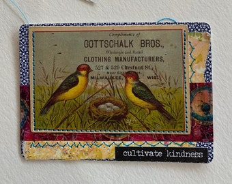 Cultivate Kindness Artist Trading Card
