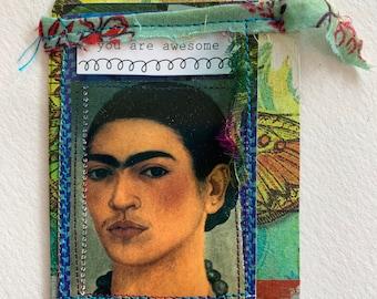 Frida Kahlo Art Card